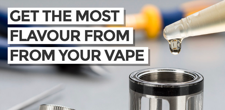 How to get the most flavour from your vape