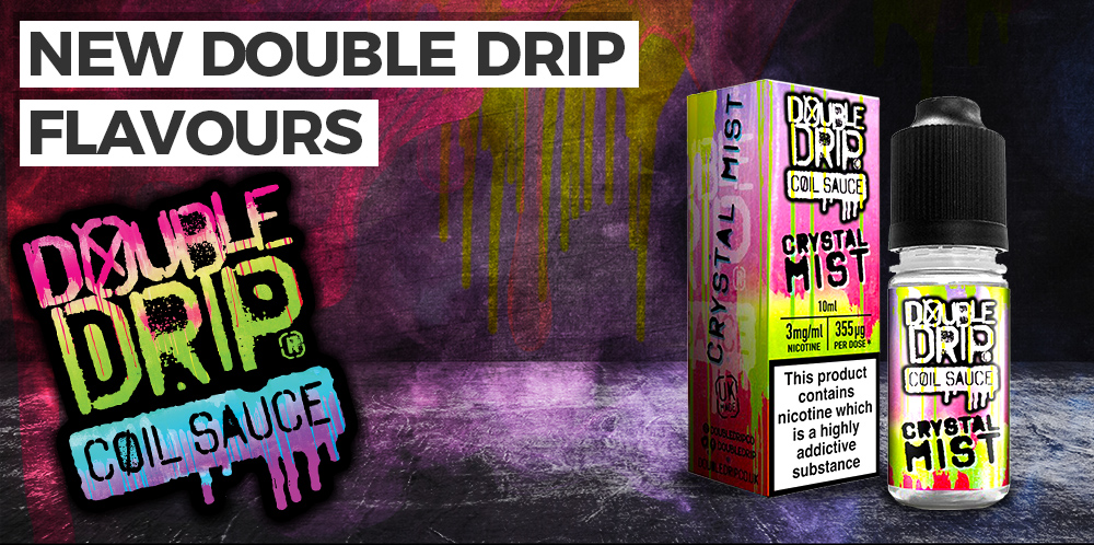 New Double Drip E-Liquid Flavours