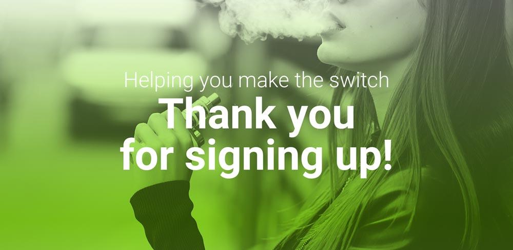 Quit Smoking Sign Up