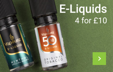 E-Liquids. 4 for £10