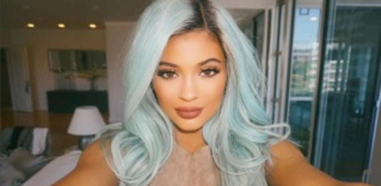 Kylie Jenner blows smoke rings as she vapes on E-Cigarette