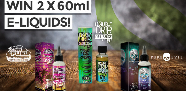 Win 120ml Vapouriz e-liquid or one of NINE £5 Discounts!